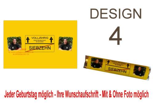 """10 x Gastgeschenk Give Away GEBURTSTAG /""""Verkehrsschild/"""" Lustig"""