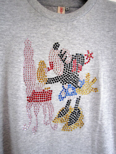 Crystals Disney's Mouse T Ink Designer M Usa Minnie Paint Size With By shirt YHqr1Yfxn