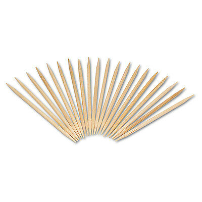 "Competent Royal Round Wood Toothpicks 2 3/4"" Natural 800/box R820 Buy One Get One Free Kitchen, Dining & Bar"