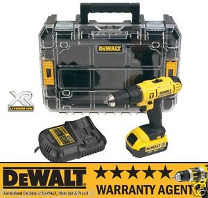 dewalt dcd776m1t 18v 1x 4ah li ion cordless combi hammer drill xr tstak rw ebay. Black Bedroom Furniture Sets. Home Design Ideas