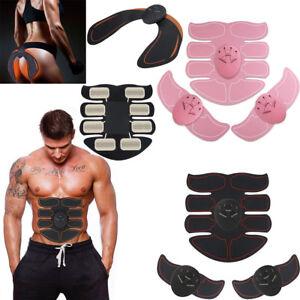 EMS Trainer Abdominal Toning Muscle Stimulator Toner Gym ABS Smart Fitness Belt