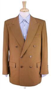 ERCOLE-039-S-Tailor-Bespoke-Handmade-2-Btn-DB-100-Cashmere-Sportcoat-Blazer-42L
