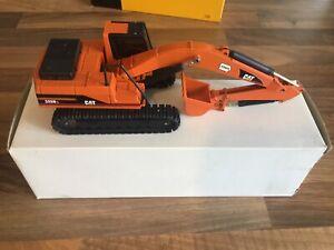 NZG-1-50-Rare-Caterpillar-325BL-Special-Iowa-Orange-Excavator-Model-Boxed