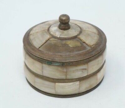Old brass shell boxes