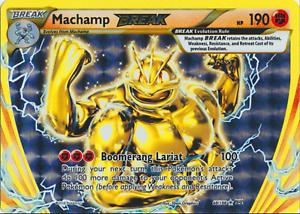 XY Evolutions Pokemon 60//108 NM//M Machamp BREAK Break Rare