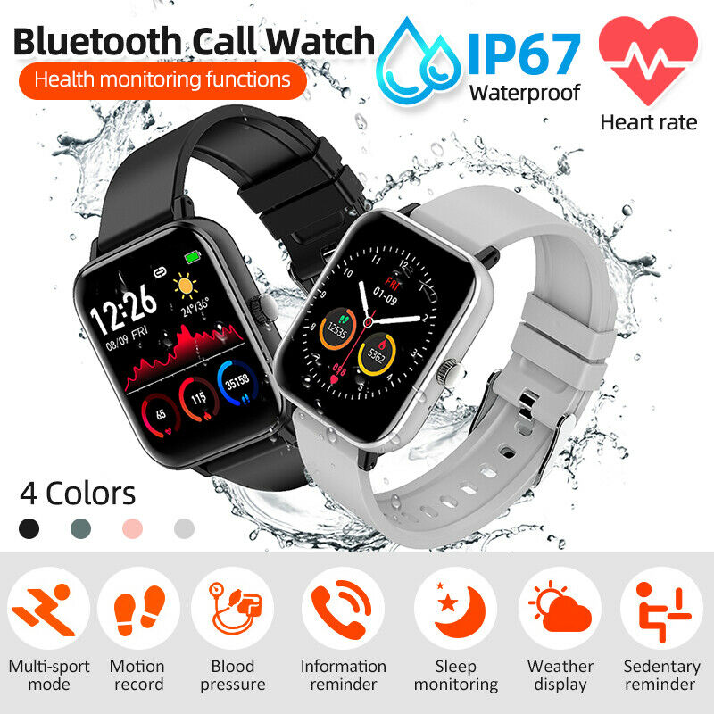 H8 Smart Watch IP67 Touch Blood Oxygen Pressure Heart Rate For Android iPhone blood Featured for heart ip67 oxygen pressure rate smart touch watch