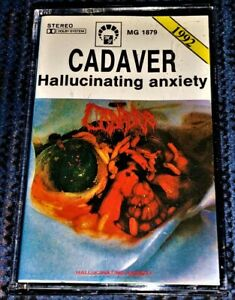 Cadaver-Hallucinating-Anxiety-VG-Cassette-Tape-Plays-Well-Rare