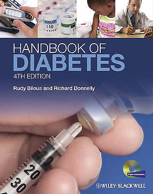 1 of 1 - Handbook of Diabetes by Richard Donnelly, Rudy W. Bilous (Paperback, 2010)