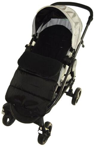 Manchon de Pieds//Cosy Toes compatible avec Hauck poussette Black Jack