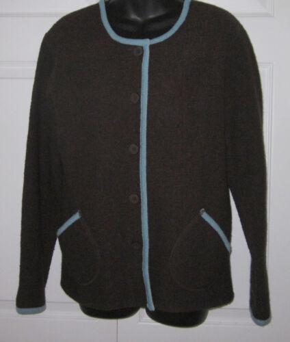 con Tally Cond Wms C M sciarpa Maglione Marrone lana Ex Cardigan sharp di blu Must Ho 8r7q8