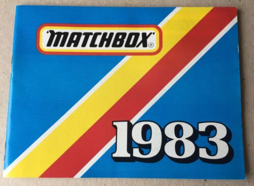 uncirculated original MATCHBOX TOYS POCKET CATALOGUE 1983