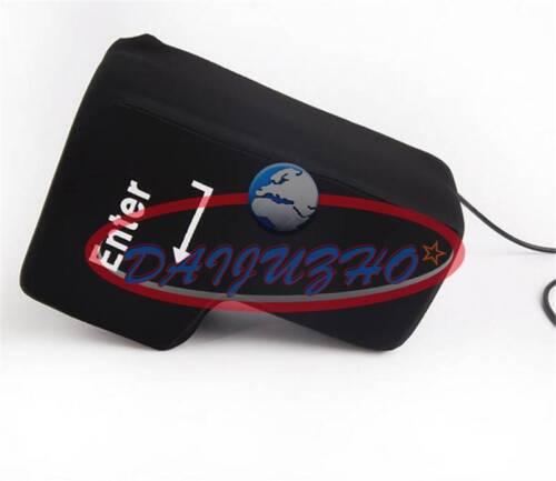 Button USB Big Enter Anti Stress Relief Nap Pillow Supersized Unbreakable Key