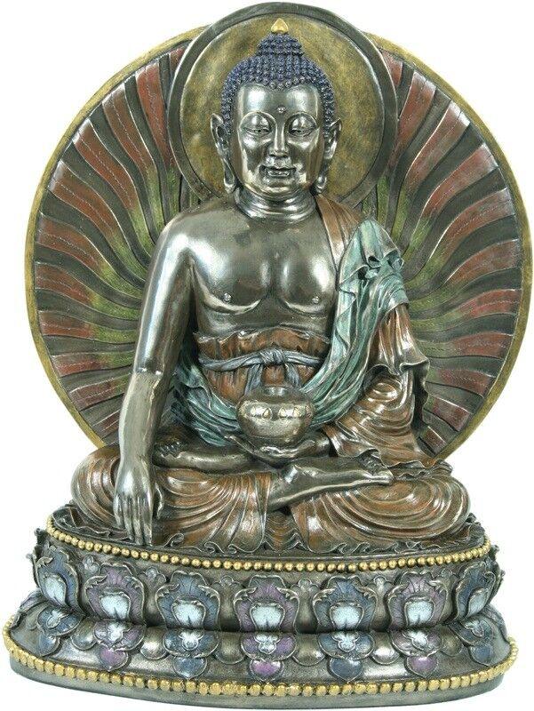 Skulptur Buddha Sakyamuni Bronze Neu