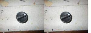 2-X-POMO-CALEFACCIoN-FIAT-UNO-TURBO-89-94-2-X-RELLENO-HEATNG-KNOB