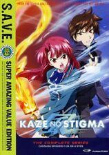 Kaze no Stigma: The Complete Series (DVD, 2012, 4-Disc Set, S.A.V.E.)