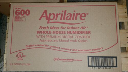 Aprilaire 600 Whole house bypass humidifier automatic NEW