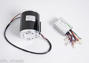 800 Watt 36 Volt Electric Motor Kit W Bracket Speed