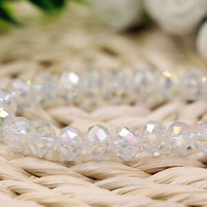 Wholesale-White-AB-Crystal-Glass-Loose-Spacer-Beads-Jewelry-Findings-4-6-8-10MM
