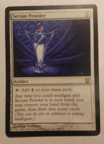 1x Serum Powder MTG Darksteel  or iconic masters Magic rare artifact mulligan x1