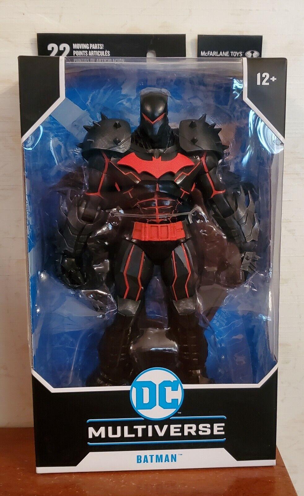Brand New DC Multiverse Batman Hellbat Suit McFarlane Toys