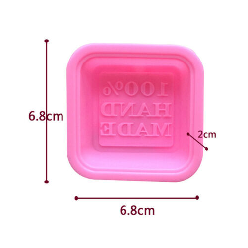 100/% hand made DIY silicone mold soap mold fondant cake decorating tools HOT/%
