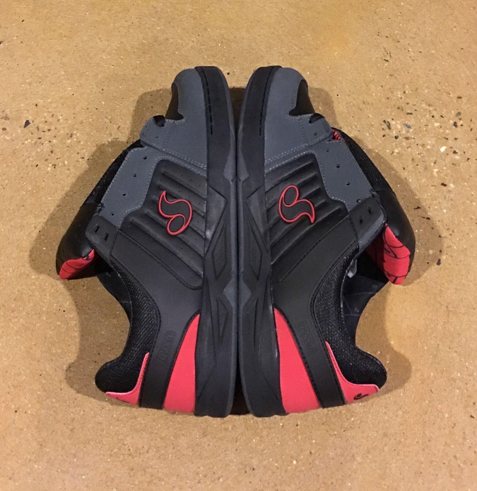 DVS Argon Deegan Size 8 Black Gunny Militia Havoc BMX DC Skate Shoes Sneakers