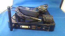 ASUS EEE BOX B202 INTEL ATOM 1.6,WI-FI,1GB RAM,40 GB,HDMI,POWER ADAPTER,1080P,XP