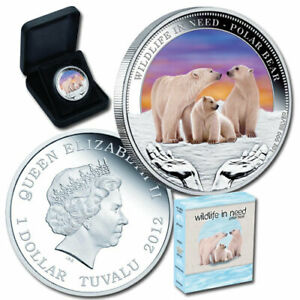 Wildlife-in-need-Polar-Bear-1oz-Silver-Proof-Coin-Perth-Mint-2011