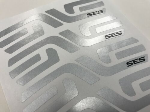 ENVE SES 56-60mm Wheel Decals White Black Silver