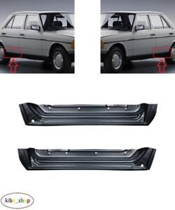 Details about MERCEDES-BENZ W123 1975 - 1985 NEW REAR DOOR LOWER REPAIR  PANELS PAIR L + R