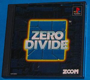 Zero-Divide-Sony-PlayStation-PS1-PSX-JAP-Japan