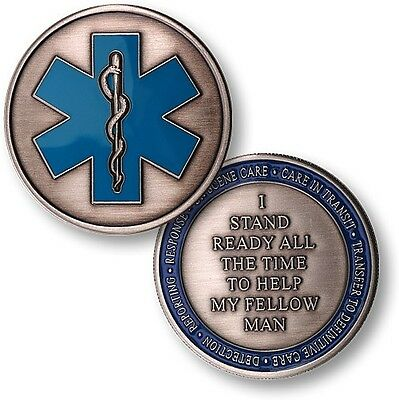 NEW EMS Emergency Medical Services Challenge Coin. 57021.