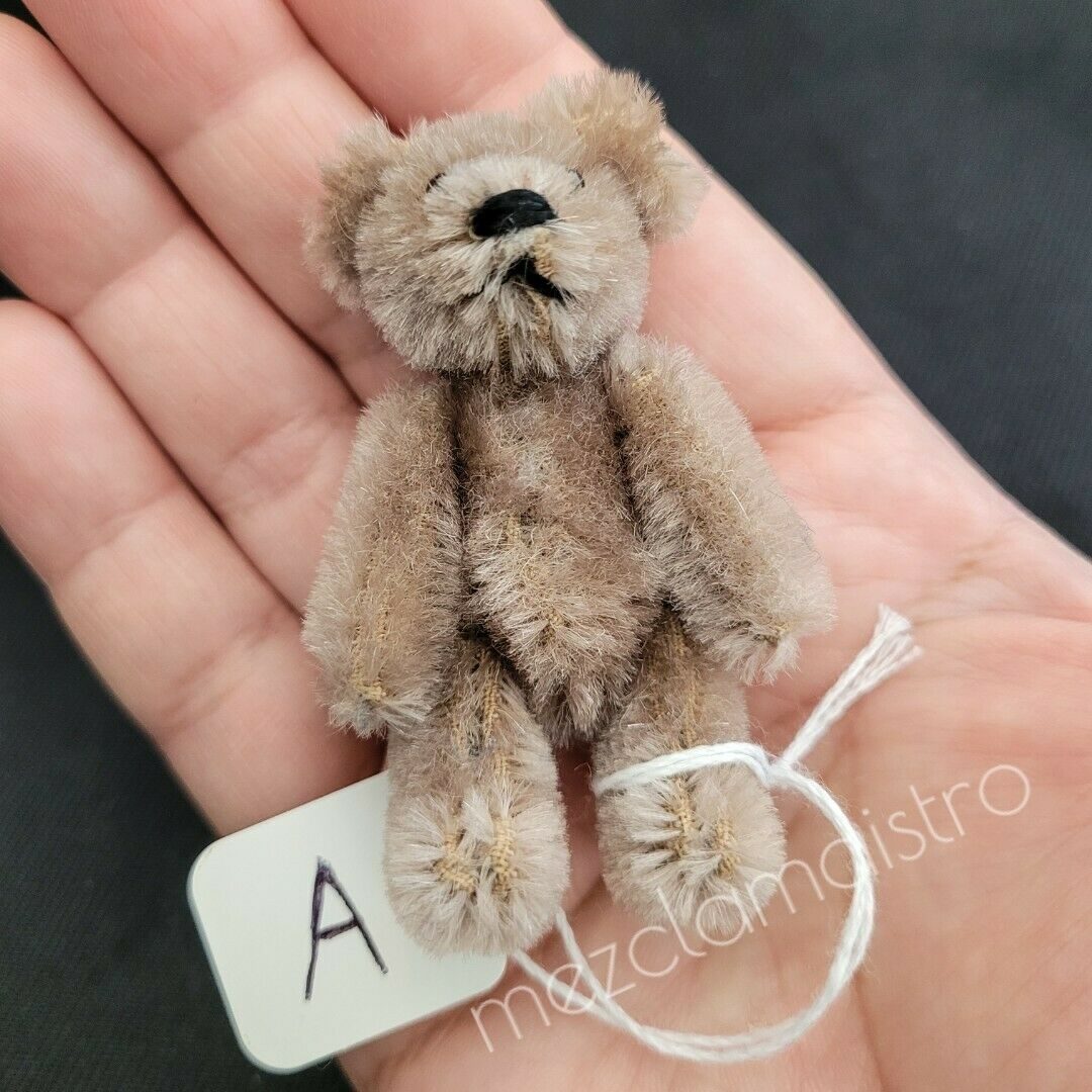 Schuco Teddy Bear ANTIQUE VINTAGE 1930-40 MINIATURE MADE IN GERMANY 2 3/4