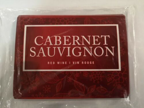CABERNET SAUVIGNON Adhesive Wine Bottle Labels 30-Pack Peel and Stick