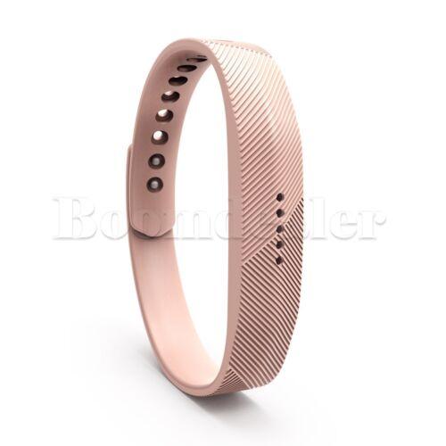 12 Colors Sport Silicone Wrist Band Bracelet Strap For Fitbit Flex 2 Fitness S/&L