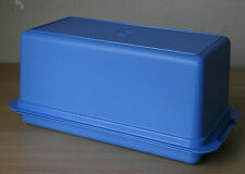 Tupperware Classic Vintage Style  Loaf Bread Keeper Blue Iris New