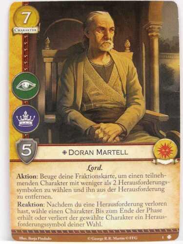A Game of Thrones 2.0-1x #001 Doran Martell Dornischer Sand