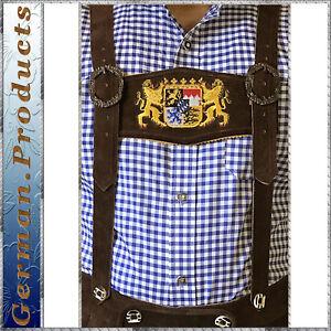 German-Bavarian-Oktoberfest-Trachten-Lederhosen-Adjustable-Special-Suspenders-T6