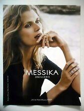 PUBLICITE-ADVERTISING :  MESSIKA Collection Glam'Azone  2016 Malgosia Bella