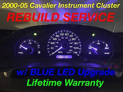 CHEVY CAVALIER Speedometer Instrument Cluster Gauge and Display REPAIR