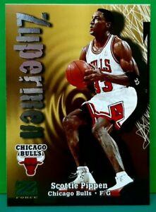 Scottie Pippen subset card Zupermen 1997-98 Skybox Z-Force #191