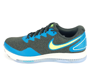 Nike Zoom All Out Low 2 Men's Running Training shoes Sequoia Volt-Neo AJ0035 301