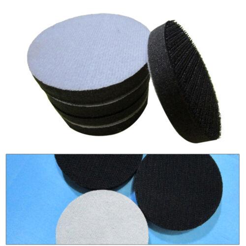 2 Stück 3 Zoll Interface Pad 75mm Klettschleifscheiben Schwammwerkzeugteile