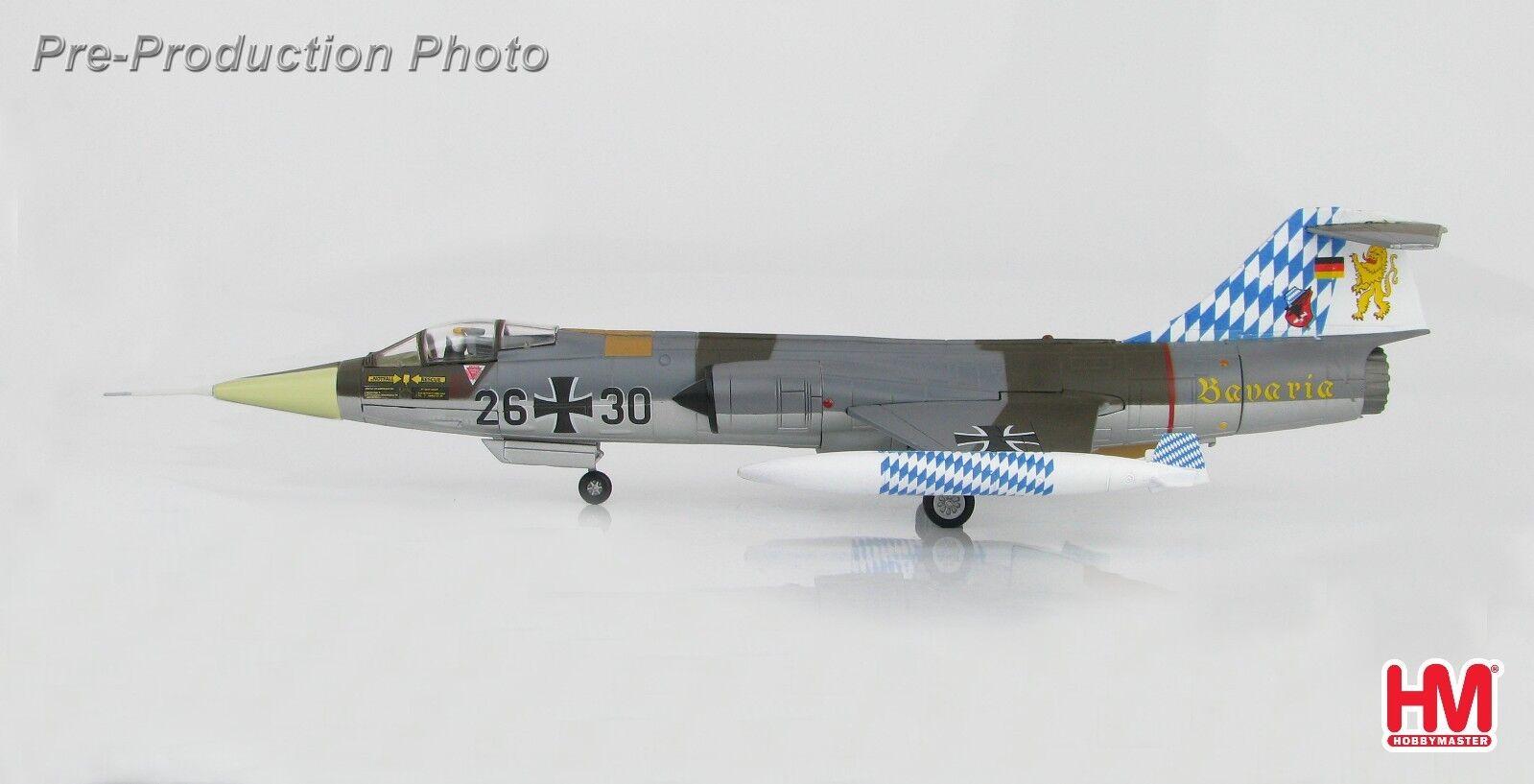Lockheed F-104G Starfighter 25 Years JG 32 Luftwaffe Lechfeld Hobbymaster HA1033