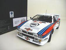 1:18 Kyosho Lancia 037 Rally Sanremo 1985 #1 08302C NEU NEW