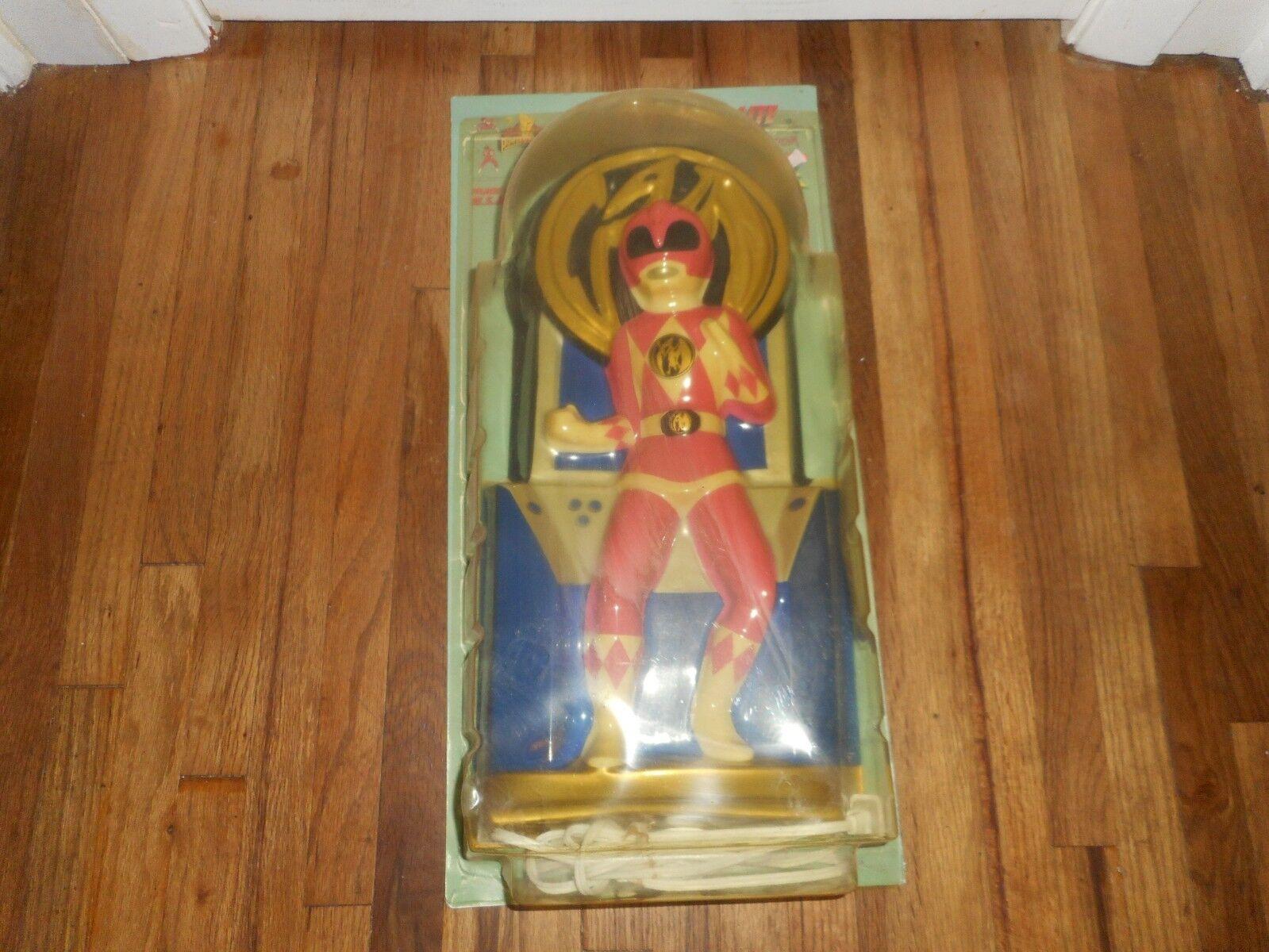 NIB Vintage Rosa Mighty Morphin Power Rangers ROT Ranger Wall Night Light 18