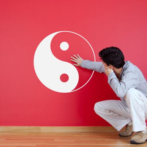 Chinese Symbol Wall Decal Yin-Yang Wall Sticker