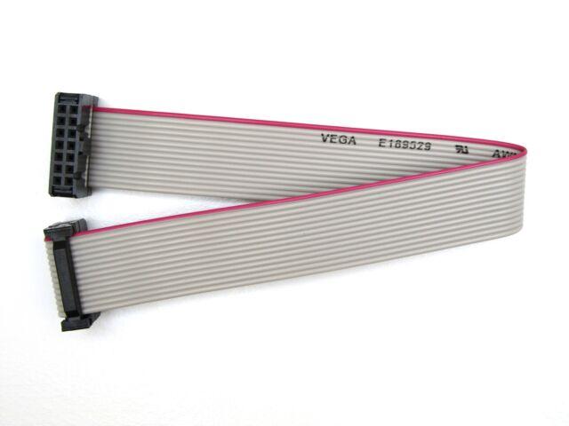 14-Polig - Flachbandkabel mit Pfostenbuchsen / IDC