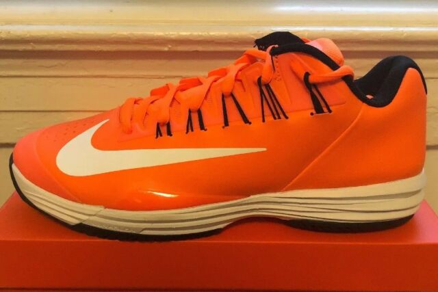 promo code 59434 8cc87 Nike Lunar Ballistec 1.5 Sz 12 MSRP  165 Nadal Tennis Orange White  705285-802