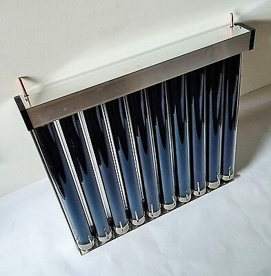 Solar Water Heater Collector Panel Kit Easy hookup free shipping Built In USA! a